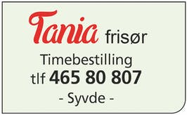 Tania Frisør logo