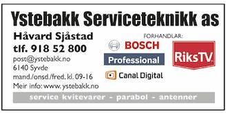 Ystebakk Serviceteknikk AS logo