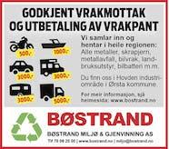 Bøstrand Miljø & Gjenvinning AS logo