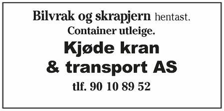 Kjøde Kran & Transport AS