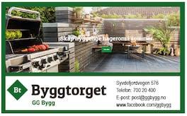 GG Bygg logo