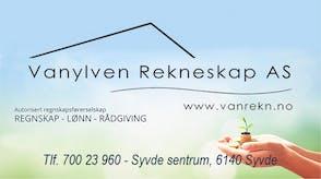 Vanylven rekneskap logo