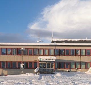 rådhus vinter
