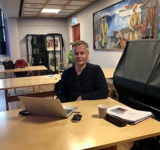 FRÅ KRETSEN: Frode Synnes var Møre og Romsdal idrettskrets sin representant under årsmøtet i Vanylven idrettsråd.