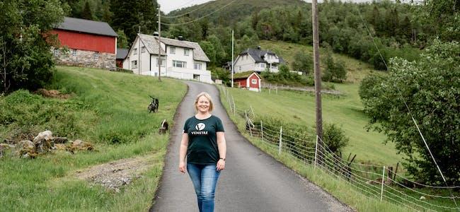 Lena Landsverk Sande har grunn til å smile. I ei nyleg måling utført for Klassekampen og Nationen får ho nemleg plass på Stortinget frå hausten.