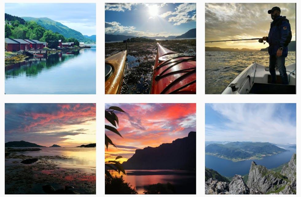 Skjermbilde frå Instagram. Desse brukarane har tagga oss med #synstemøre. Gjer det same du også.