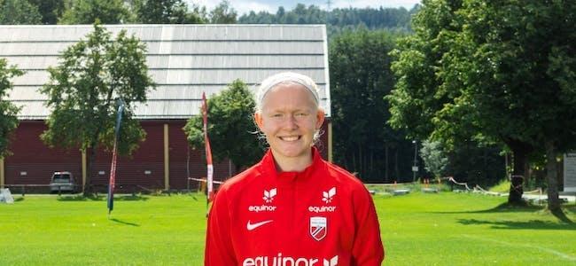 TALENT: Amalie Anny Ervik Røys frå Syvde var ei av over 90 jenter som var til stades på Equinor Talentleir i Porsgrunn i år. FOTO: Mats Lønne.