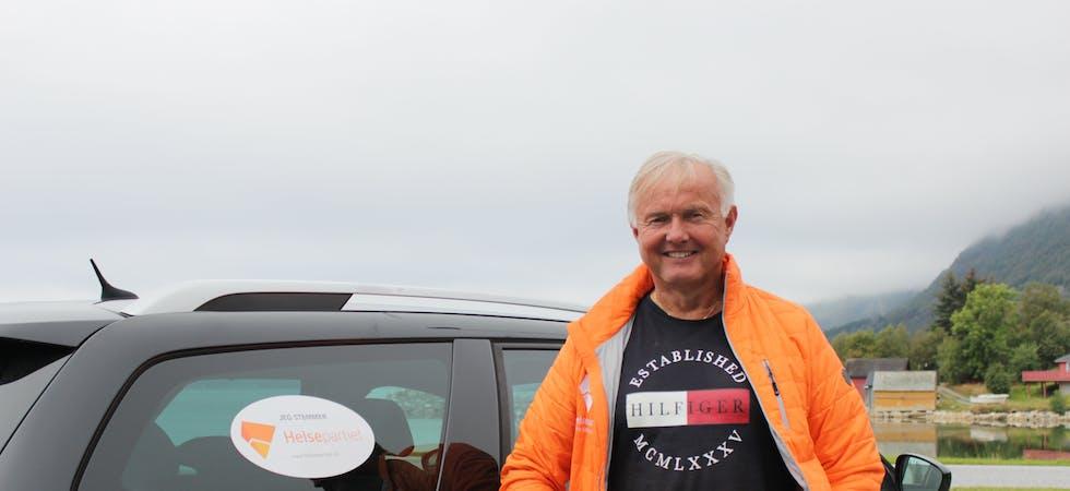 Nils Olav Moen. Helsepartiet.