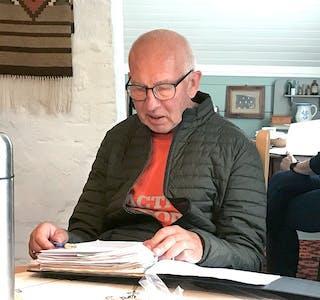 ATTVAL: Geir Nordal held fram som leiar i Syvde sogelag.