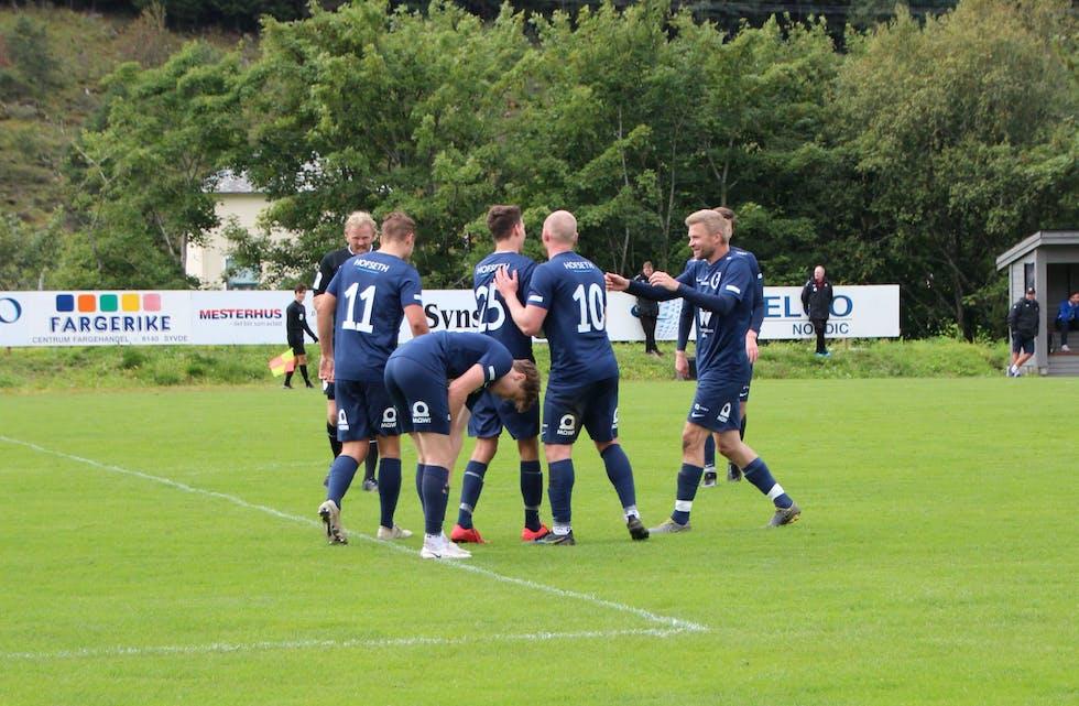 Det vart berre det eine poenget for Vanylven FK heime mot Stranda søndag.