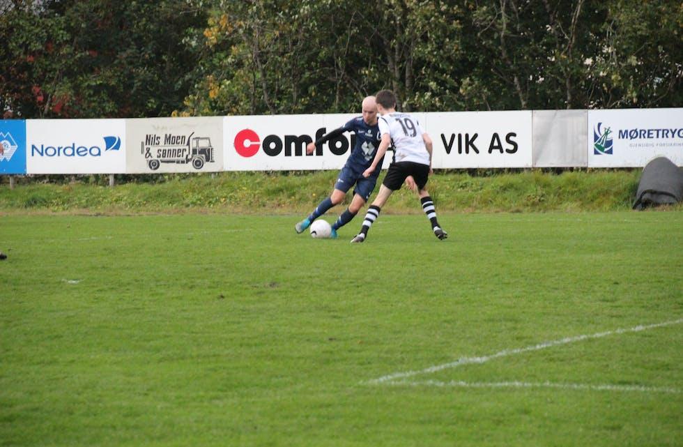 Magnus Vik la på til 5-0 like før slutt.
