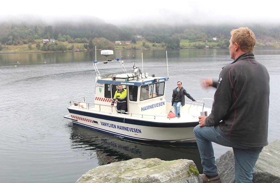 Vanylven kommune var nyleg på synfaring i Vanylvsfjorden.
